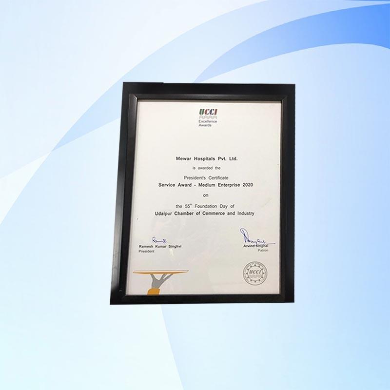 mewar hospitals award