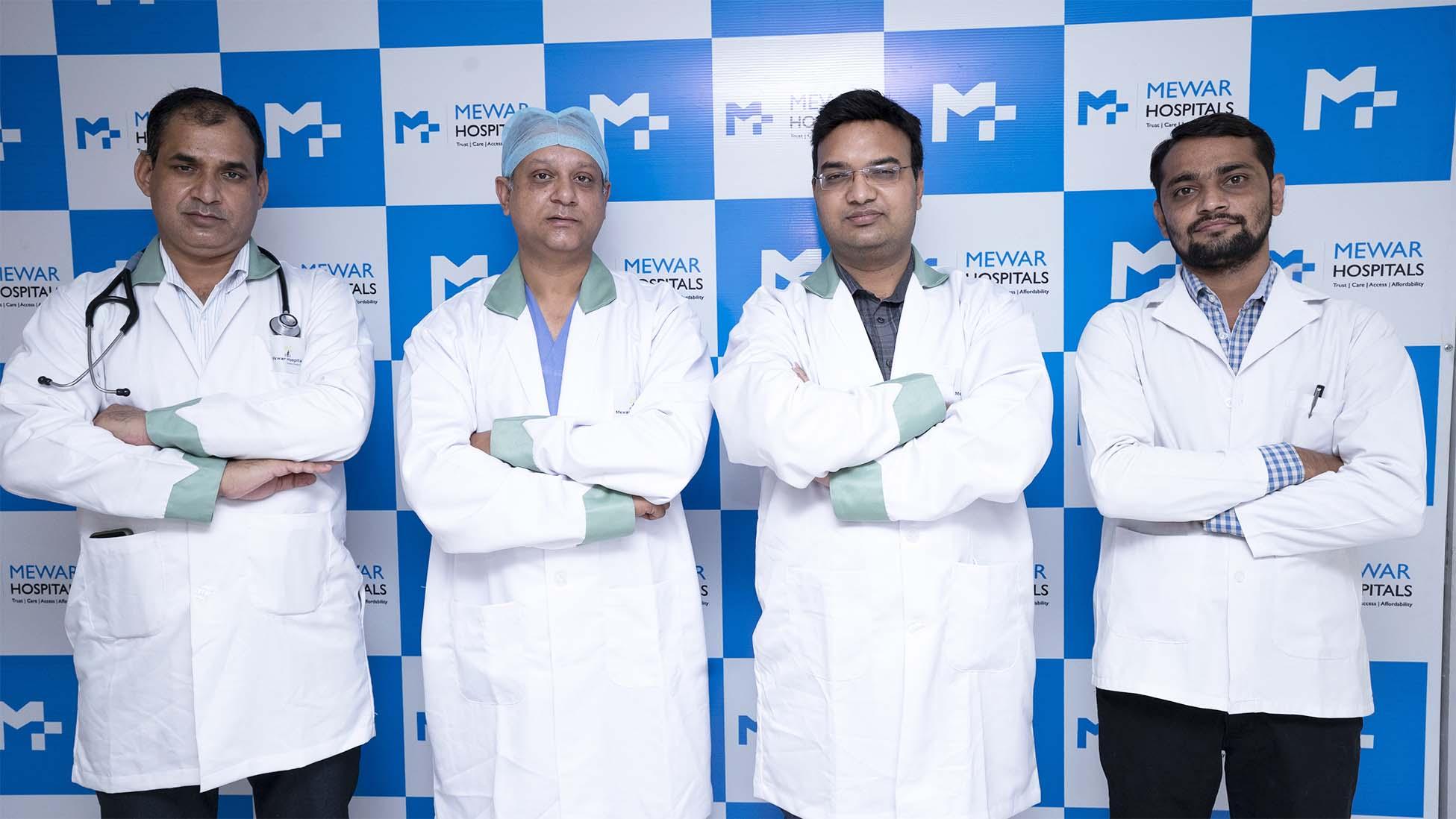 Mewar Hospitals team